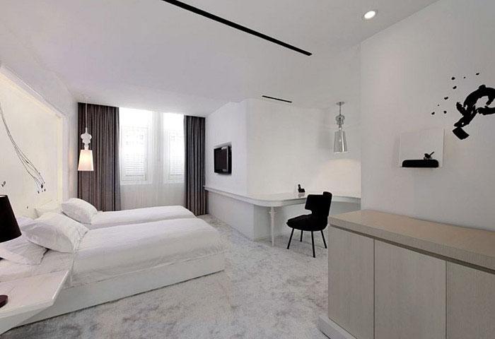 Sức mạnh của màu trắng và đen trong thiết kế nội thất